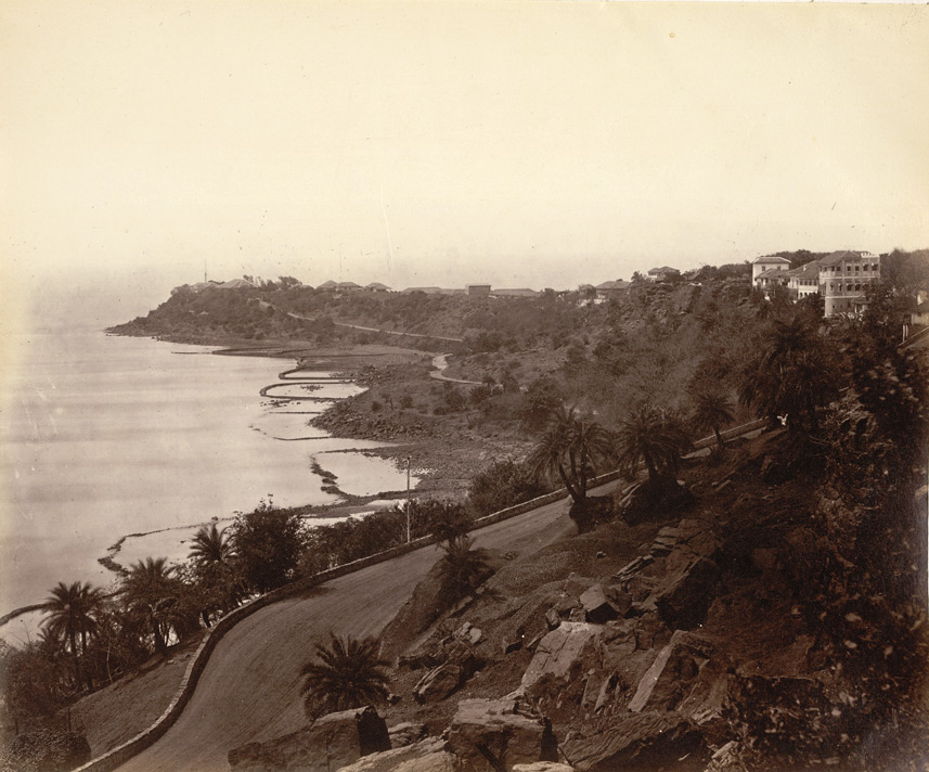Malabar Point [Bombay], Govt. House.